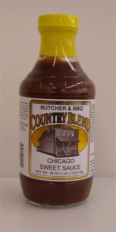 chicago sauce country blend chicago sweet barbecue sauce