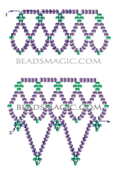 free beading patterns 1000 images about seed necklace on beading