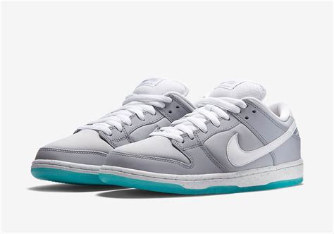 Nike Air Mcfly To Be Released by Nike Mag Sb Dunk Low Back To The Future Sneaker Bar Detroit