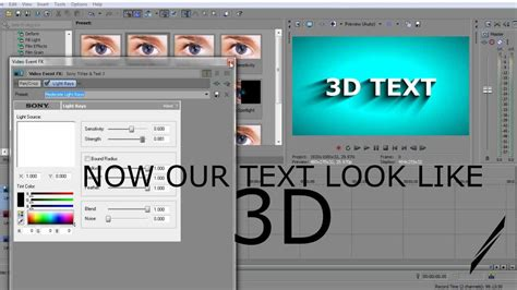 effect 11 wave text sony vegas tutorial youtube make 3d text in sony vegas pro 11 youtube