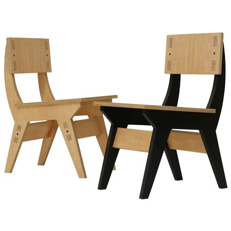 kinder plywood dining chair for sale at 1stdibs