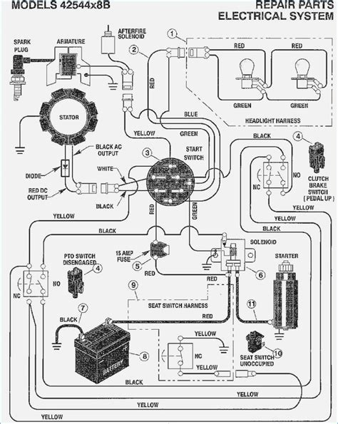 mtd mower wiring diagram contemporary