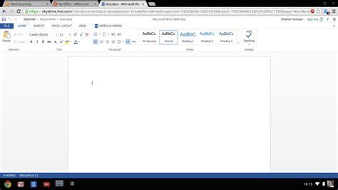 Microsoft Word Web Microsoft Word For Chromebook About Chromebook
