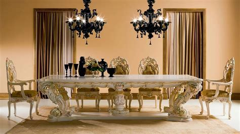 Luxury Dining Room Furniture 8 Dining Room Tables For A Luxury Dining Set