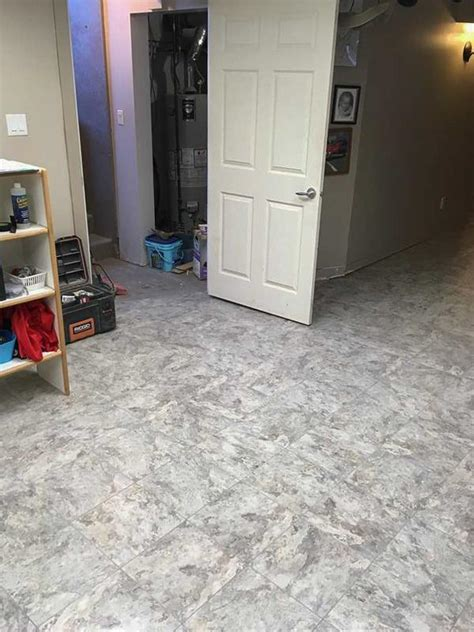 Basement Flooring Systems Doug S Basement Systems Basement Waterproofing Photo Album Basement Flooring In Hussar Ab