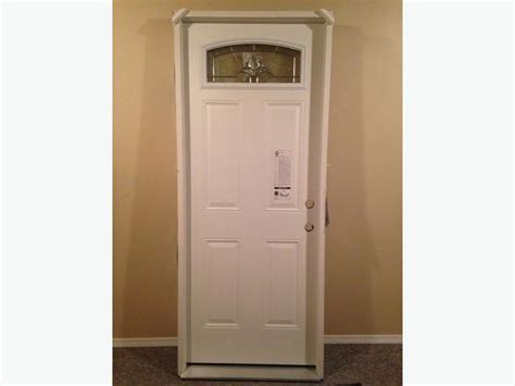 Exterior Door Brands Brand New Exterior Door Masonite Premium Steel Still In Original Packaging West
