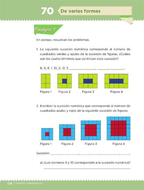 desafios matematicos 5 grado bloque 4 com de varias formas bloque iv lecci 243 n 70 apoyo primaria