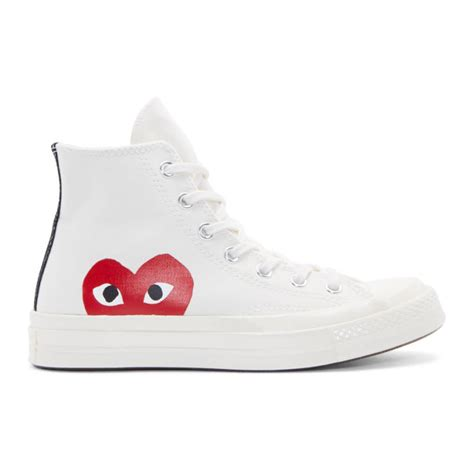 Sell Home Decor Products by White Heart Logo Converse Edition From Ssense