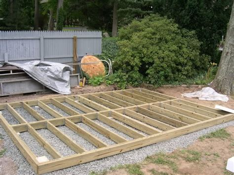 Timber Shed Base by Timber Frame On A Bed Of Shingles Shed Log
