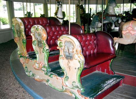 pullen benches national carousel association the pullen park carousel dentzel three bench chariot