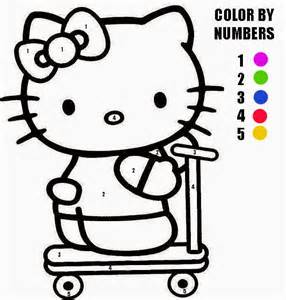 hello pictures to color hello color by number coloring home