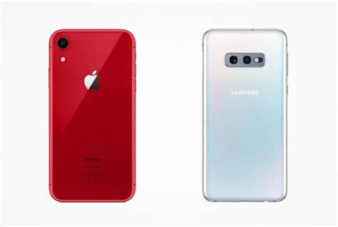 samsung galaxy s10e vs iphone xr the real flagship battle