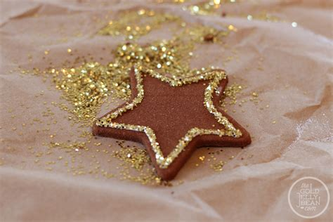 cinnamon glitter making christmas ornaments the gold