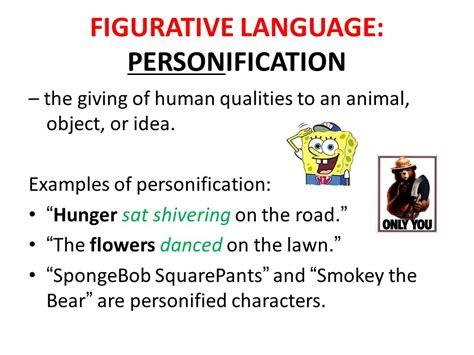 figurative language literary devices ppt video online
