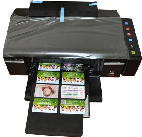 printers for card id card printer direct print on pvc card without cutting