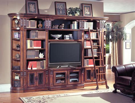 6 chestnut entertainment center library bookcase tv