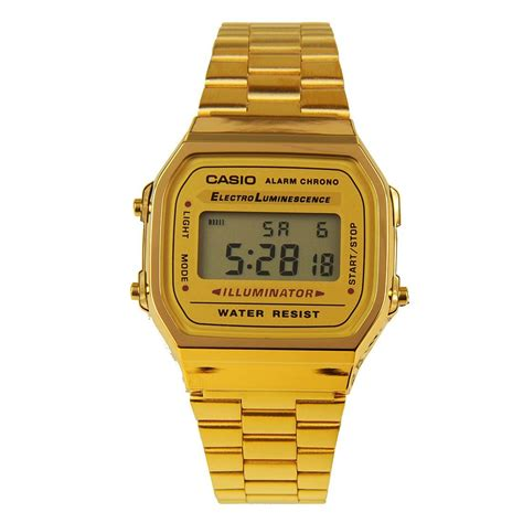 casio a168wg 9w vintage retro gold digital illuminator