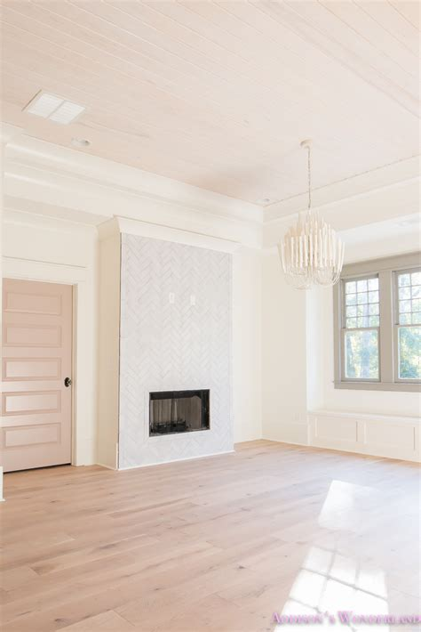 Pink Ceiling Paint That Turns White by Our Kid S Playroom Space Reveal S
