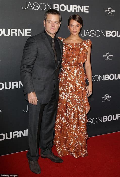 Carpet The Bourne Ultimatum Premiere La by Matt Damon Says He Let The Professionals Tackle The