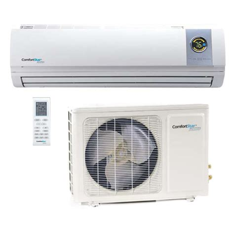 comfort conditions for air conditioning comfortstar plus ductless air conditioners parts