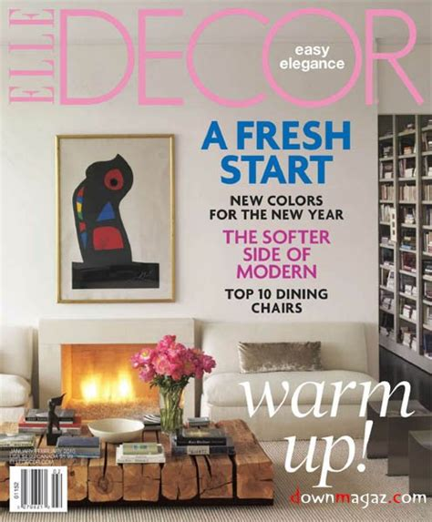 home decor mag elle decor january february 2011 187 download pdf magazines magazines commumity