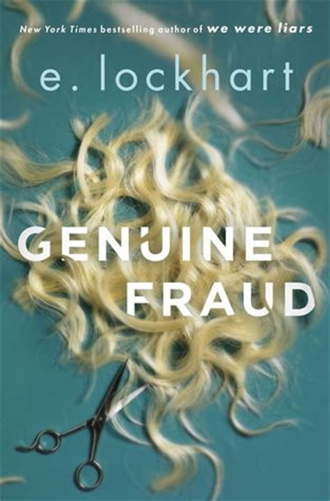 genuine fraud by e lockhart reviews discussion