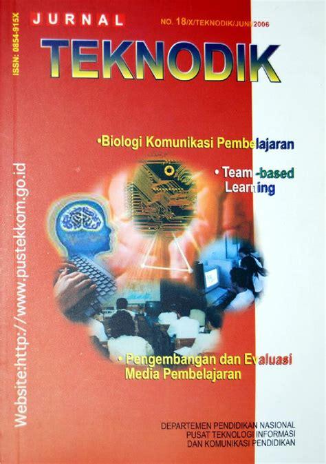 Media Dan Teknologi Dalam Pembelajaran Dr Benny jurnal teknodik no 18 by bs e issuu