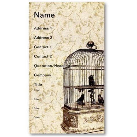 Hsus Cage Card Templates by 17 Best Images About Rococo Bird Theme On