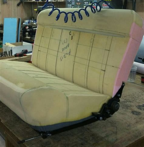 auto upholstery seat foam custom 32 ford seat foam work finished and ready to start
