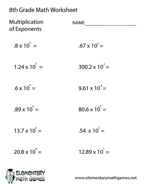 8th Grade Linear Equations Worksheets by 10 Best Images Of Linear Equations Worksheets 8th Grade