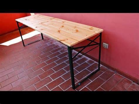 come realizzare un tavolo come realizzare un tavolo pieghevole fai da te mania