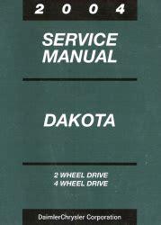 free online auto service manuals 2004 dodge dakota club interior lighting 2004 dodge dakota an service manual