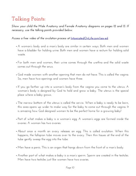 Pdf Talk Lessons Introduce Biblical Sexuality by Talk Lesson 1 Talking Points
