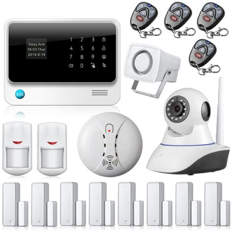Wireless Alarm System app controlled gsm wifi alarm system wireless security