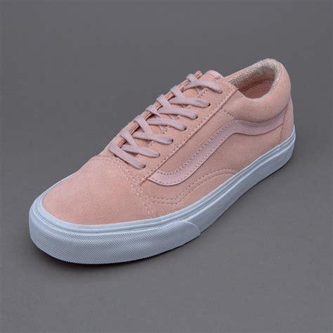 Sepatu Vans Skate Original sepatu sneakers vans womens skool suede peachskin
