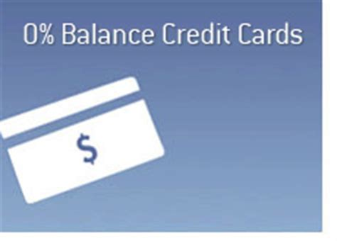 Zero Balance Credit Card Letter 0 Balance Transfer Credit Card Offers Do They Exist