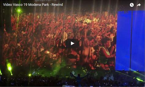 vasco rewind vasco modena park 2017 rewind fan in delirio