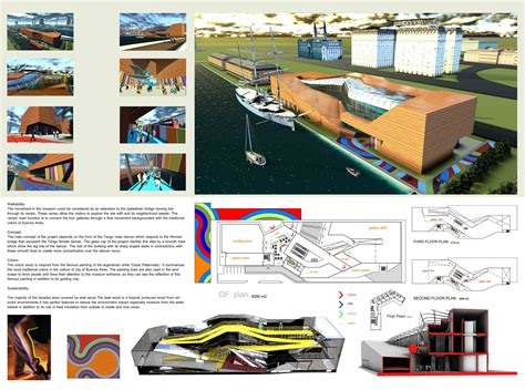 design concept for museum gallery of daegu gosan public library competition entry