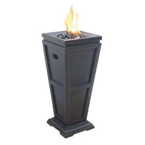 uniflame medium 11 25 in x 11 25 in propane gas pit