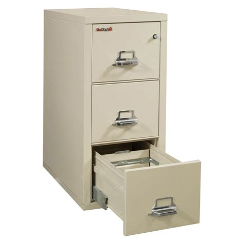 fireking used 3 drawer letter size vertical file cabinet