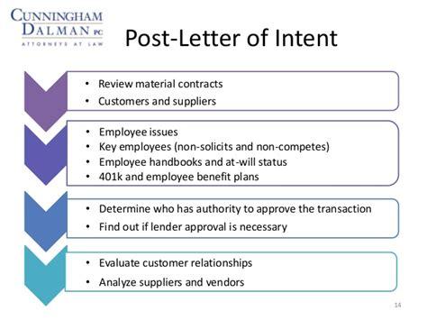 Letter Of Intent Due Diligence due diligence letter of intent docoments ojazlink