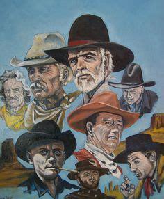 cowboy film makes hero a poser jw john wayne caricature bing bilder duke dunway