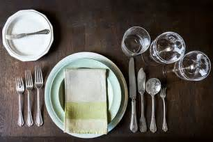 fancy place setting how to set a table