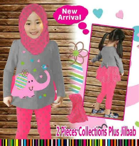 Murah Celana Panjang Anak Umur 1 3 Tahun jual setelan baju muslim anak perempuan branded