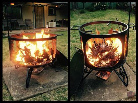 cool firepits cool australian army pit pits bbq s and
