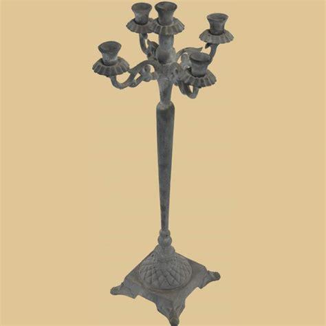hohe kerzenhalter hoher 5 flammiger kerzenhalter garten
