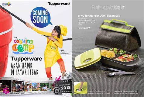 B Y O Lunch Set tupperware promo februari 2018 katalog terbaru