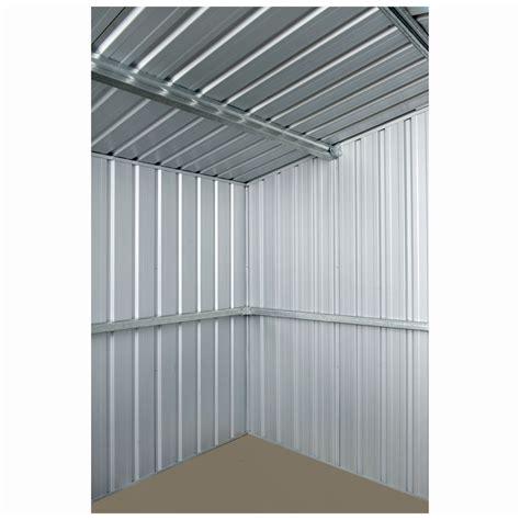 absco sheds zincalume shed cyclone kit bunnings warehouse
