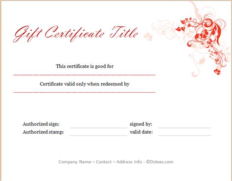 sle gift certificate templates editable gift certificate template free gift ftempo