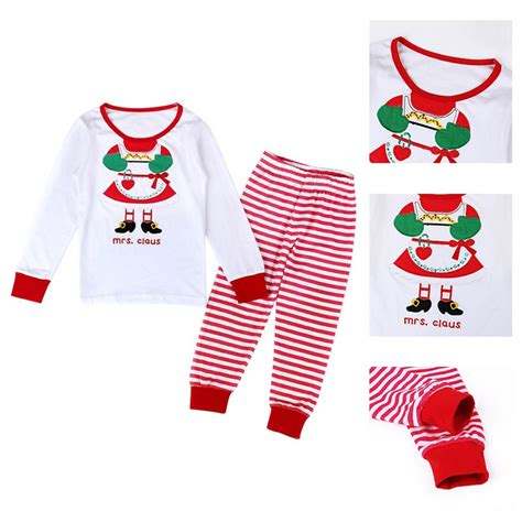 boys christmas outfit size 8 2 8y christmas kids baby girls boys home sleepwear outfits